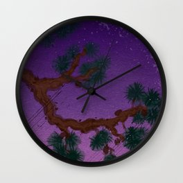Under the Pinetree Wall Clock