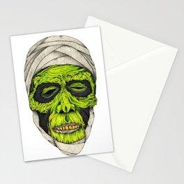Mummy Head Stationery Cards