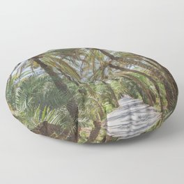 Date Palm Trees in Oman #1 Floor Pillow
