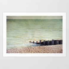 A Place To Think Art Print