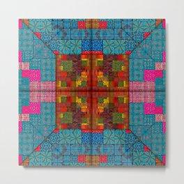 starburst pattern 2 Metal Print