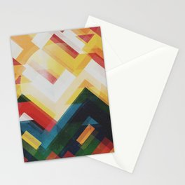 Mountain of energy Stationery Cards