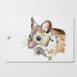 Little Brown Mouse Cutting Board