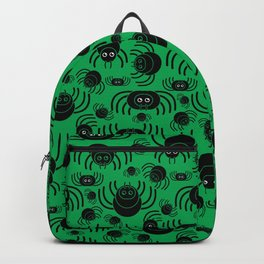 Spiders Pattern (Green) Backpack