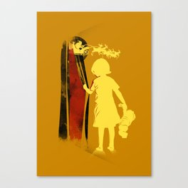 santa will give me toy Canvas Print