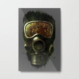 Spores Metal Print