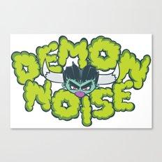 Demon Noise Canvas Print