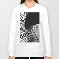 anxiety Long Sleeve T-shirts featuring Anxiety by Callen Guidry