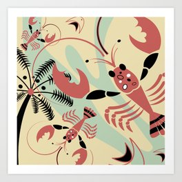 Lobster Rhumba Art Print