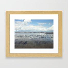 East Coast Seascape Framed Art Print