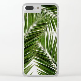 Palm Leaf III Clear iPhone Case