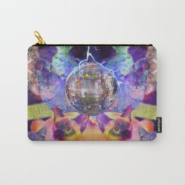 Disco Space Cats Carry-All Pouch
