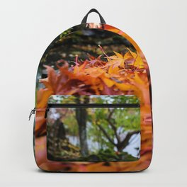 wet autumn Backpack