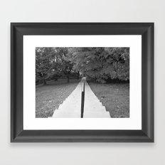 STAIRWAY Framed Art Print