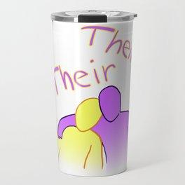 Their Their Travel Mug