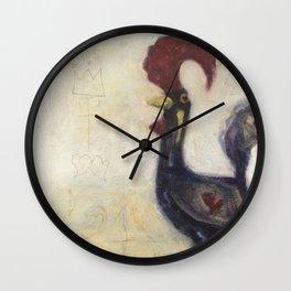Gallo White Back Drop Wall Clock