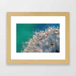 Popping Sparkles Framed Art Print