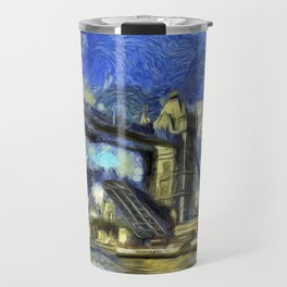 Tower Bridge and the Waverley Art Travel Mug
