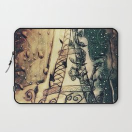 Paris Rain Laptop Sleeve