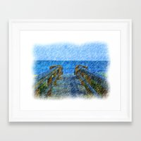 florida Framed Art Prints featuring Florida by TQ  Photography