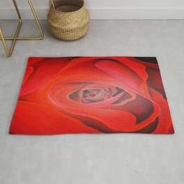The Heart of the Rose Rug