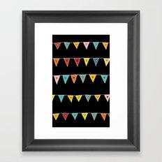 Love More (Black) Framed Art Print