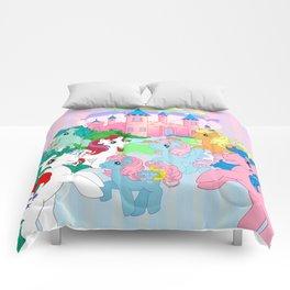 retro g1 my little pony Dream Castle Comforters