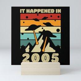 It Happened In 2005 UFO Alien Mini Art Print