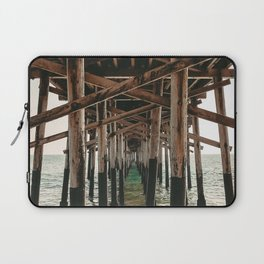 Balboa Pier Print {1 of 3} | Newport Beach Ocean Photography Teal Summer Sun Wave Art Laptop Sleeve