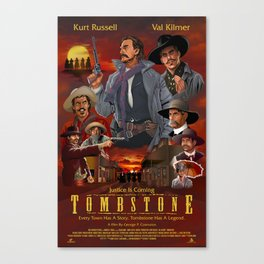 Tombstone Canvas Print