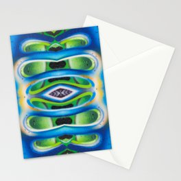 Abstract graffiti  5 Stationery Cards