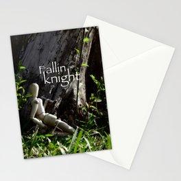 fallin knight  Stationery Cards