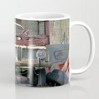 bmw Mugs featuring Old BMW Wreck by Premium