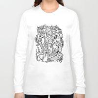 family Long Sleeve T-shirts featuring family by ybalasiano