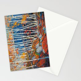In The Northland (Group Of Seven) by Tom Thomson Canadian Landscape Art Stationery Cards