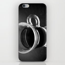Black As Night iPhone Skin