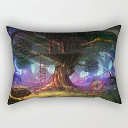Tree house Rectangular Pillow