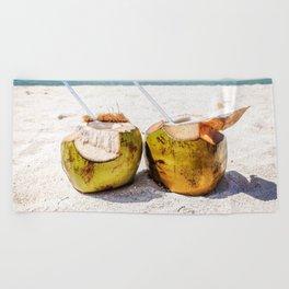 Coconut Rum Beach Towel