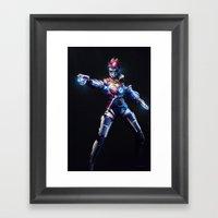 Tracer v1 Framed Art Print