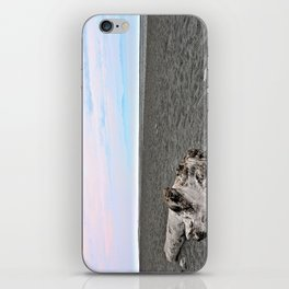 Black Sand Color Sky iPhone Skin