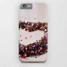 Glitter Heart iPhone 6s Slim Case