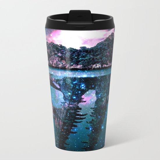 Mystery Island Metal Travel Mug