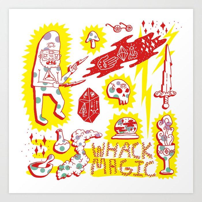 Whack Magic Art Print
