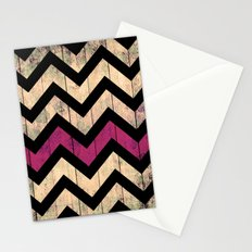 Vintage Chevron Stationery Cards