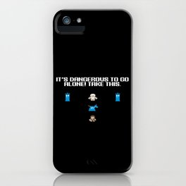 It's dangerous to go alone! Take K9. iPhone Case