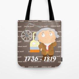 James Watt Tote Bag