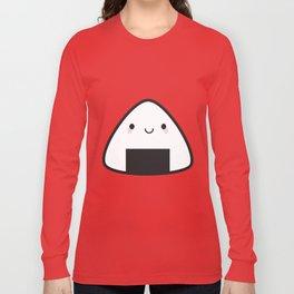 Kawaii Onigiri Rice Ball Long Sleeve T-shirt