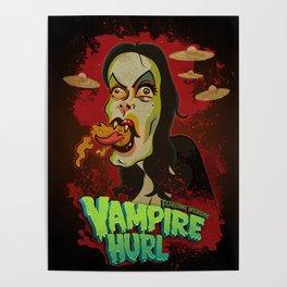Vampire Hurl Poster