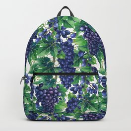 Watercolor grapes Backpack