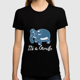 Patrick It's a Giraffe Meme Elephant Bubble T-shirt